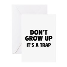 Don't grow up Greeting Cards (Pk of 20)