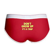 Don't grow up Women's Boy Brief