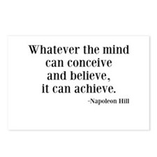 Napoleon Hill Quote Postcards (Package of 8)