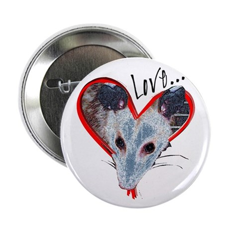Possum Love Button