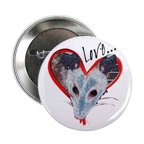 "Possum Love 2.25"" Button (10 pack)"