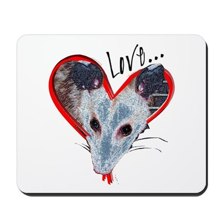 Possum Love Mousepad