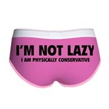 I'm not lazy Women's Boy Brief