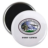 Fort Lewis with Text Magnet