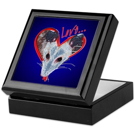 Possum Love Keepsake Box