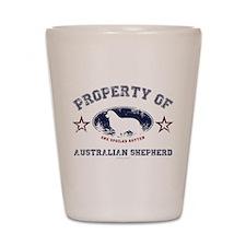 Australian Shepherd Shot Glass