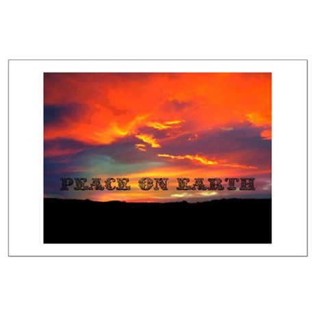 Peace on Earth Large Poster