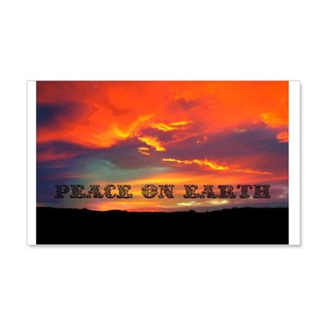 Peace on Earth 20x12 Wall Decal