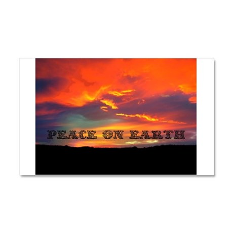 Peace on Earth Car Magnet 20 x 12