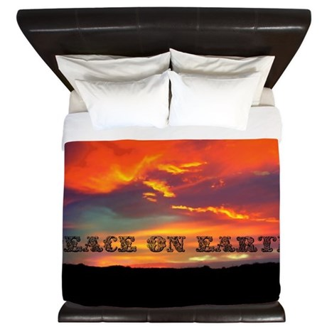 Peace on Earth King Duvet