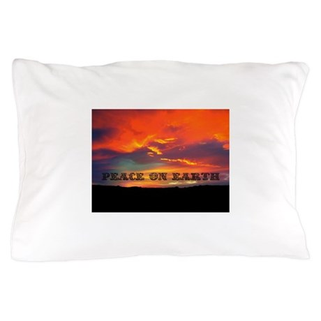 Peace on Earth Pillow Case