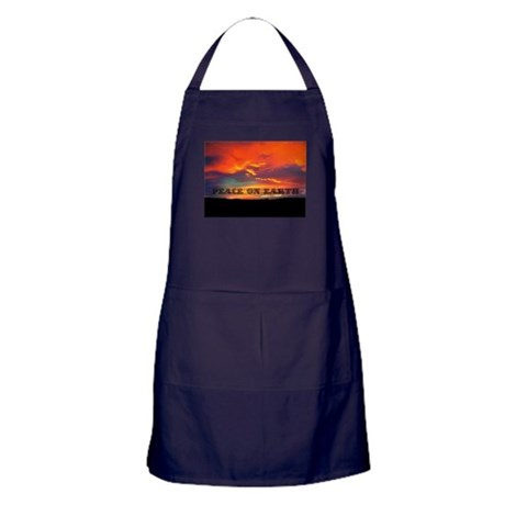Peace on Earth Apron (dark)