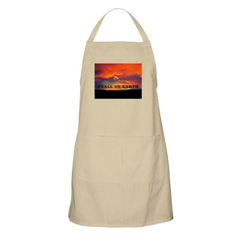 Peace on Earth Apron