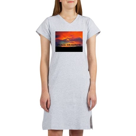 Peace on Earth Women's Nightshirt