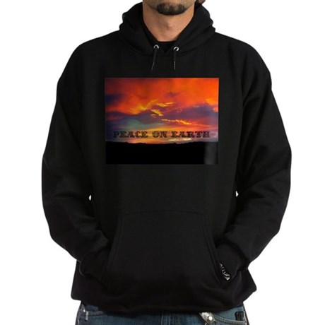 Peace on Earth Hoodie (dark)