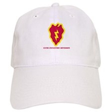 SSI - 25th Infantry Division with Text Baseball Cap