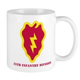 SSI - 25th Infantry Division with Text Small Mug