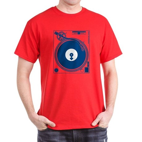 Male Turntable Dark T-Shirt