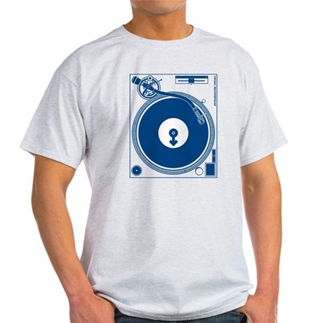 Male Turntable Light T-Shirt