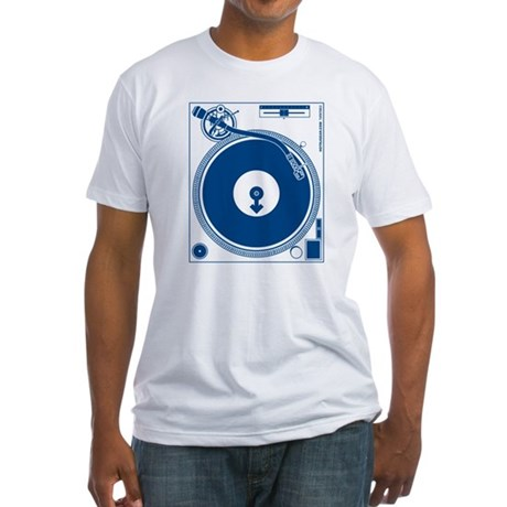 Male Turntable Fitted T-Shirt