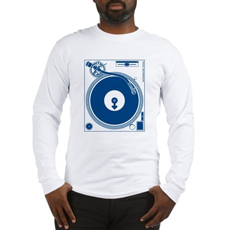 Male Turntable Long Sleeve T-Shirt