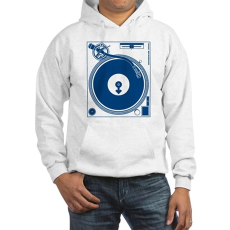 Male Turntable Hooded Sweatshirt