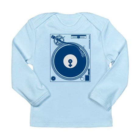 Male Turntable Long Sleeve Infant T-Shirt