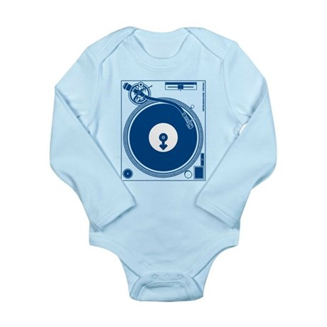 Male Turntable Long Sleeve Infant Bodysuit