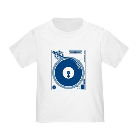 Male Turntable Toddler T-Shirt