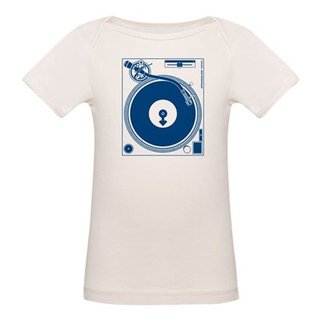 Male Turntable Organic Baby T-Shirt