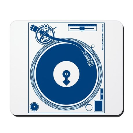 Male Turntable Mousepad