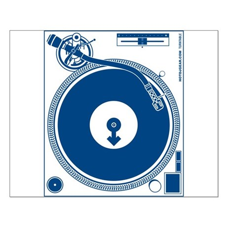 Male Turntable Small Poster