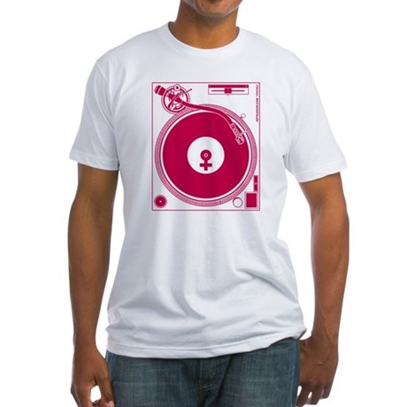 Female Turntable Fitted T-Shirt