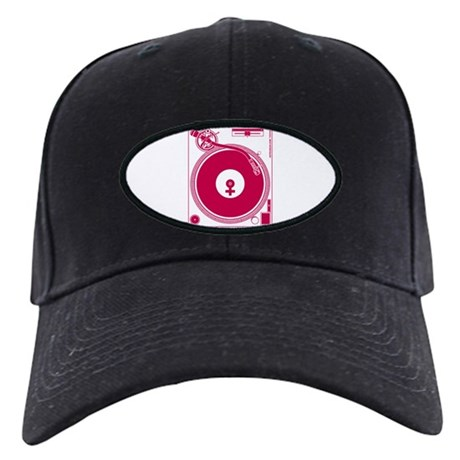 Female Turntable Black Cap