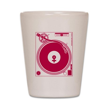 Female Turntable Shot Glass
