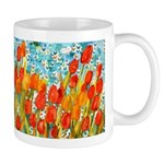Orange Tulip Inspirational Art Mug