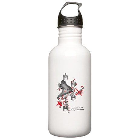 Skate parts Stainless Water Bottle 1.0L