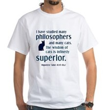 wisdom of cats philosophy Shirt