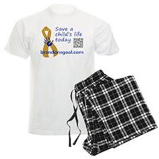 Save a child's life pajamas