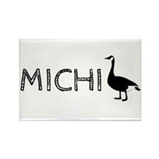 Michigander Rectangle Magnet