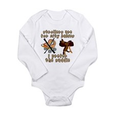 Funny Horse saddle Long Sleeve Infant Bodysuit