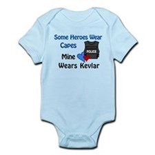 Funny Police officer Infant Bodysuit