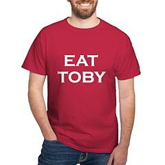EAT TOBY Dark T-Shirt