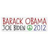 BARACK OBAMA 2012 Stickers