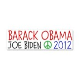 BARACK OBAMA 2012 Car Magnet 10 x 3