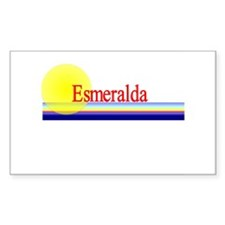 Esmeralda Rectangle Decal