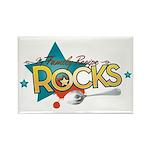 My Family Recipe Rocks Rectangle Magnet