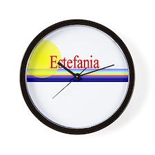 Estefania Wall Clock