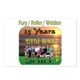 Myrtle beach Postcards (Package of 8)