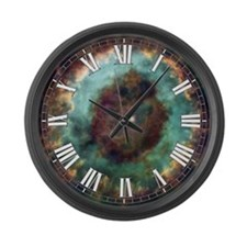 NGC 6369 Large Wall Clock